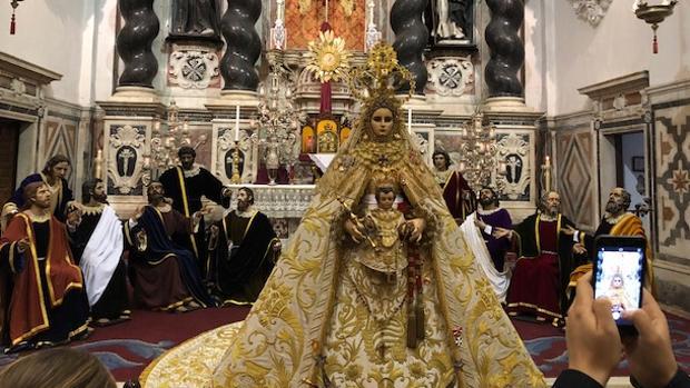 Los titulares de Buena Muerte estarán en el altar mayor de Santo Domingo
