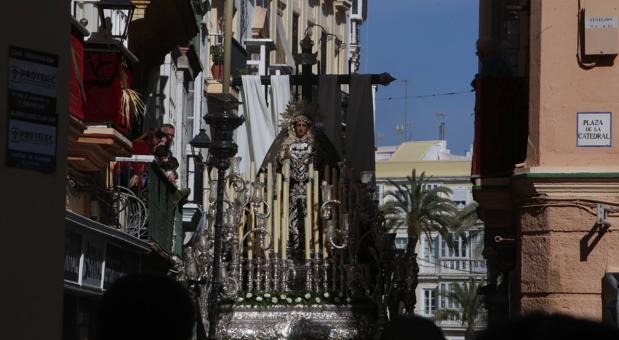 Nuestra Señora de la Soledad este pasado Sábado Santo