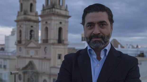 José Manuel Verdulla lleva cuatro años como responsable del Nazareno de Santa María