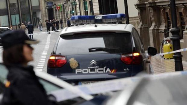 Policía Nacional en una operación