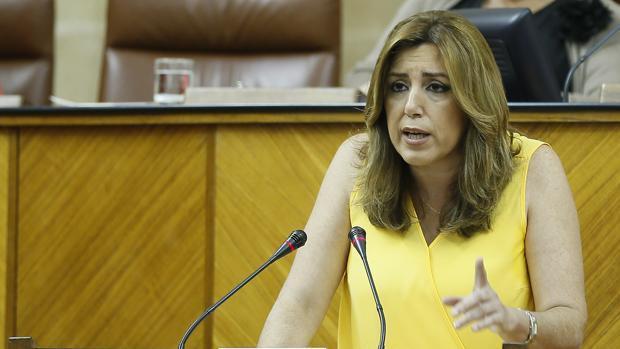 Susana Díaz ha firmado el acuerdo este jueves