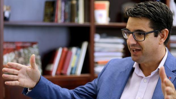 El concejal delegado de Urbanismo del Ayuntamiento de Córdoba, Pedro García