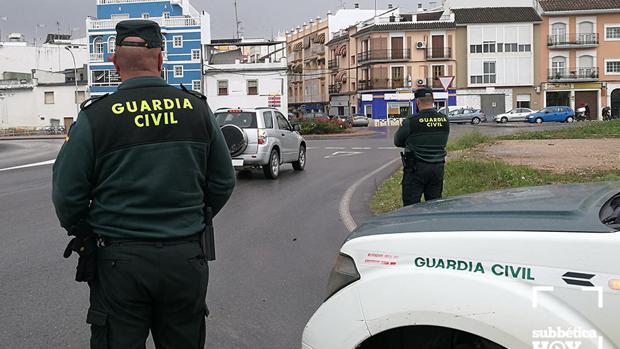 Efectivos de la Guardia Civil de Puente Genil