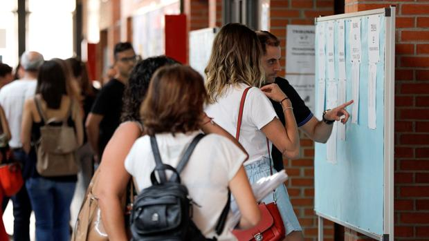 Los profesores pueden consultar ya sus destinos