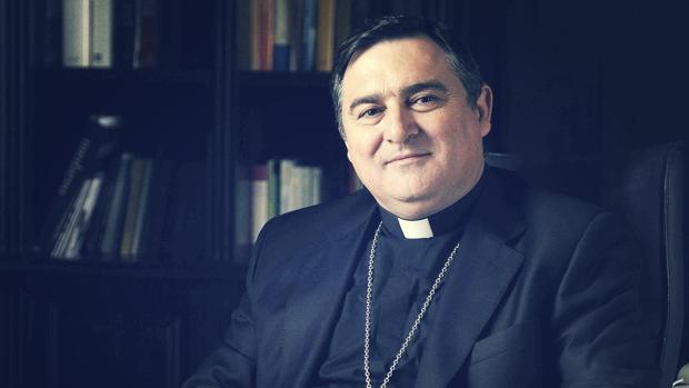 Monseñor José Mazuelos, obispo de Asidonia-Jerez.