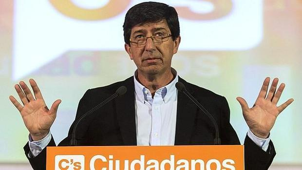 El líder de Ciudadanos, Juan Marín