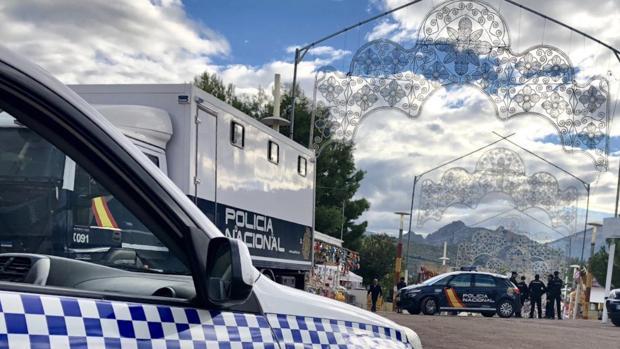 El vehículo de la Policía Local desistió de perseguir al coche de alta gama