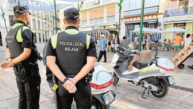 La Policía Local de Málaga detuvo al presunto agresor