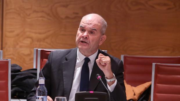 Manuel Chaves, hoy en la comisión de investigación sobre financiación de los partidos políticos del Senado