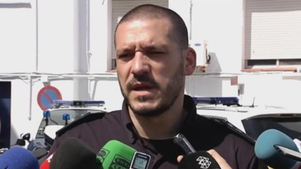 Luis Esteban, durante una intervención ante los medios de comunicación.