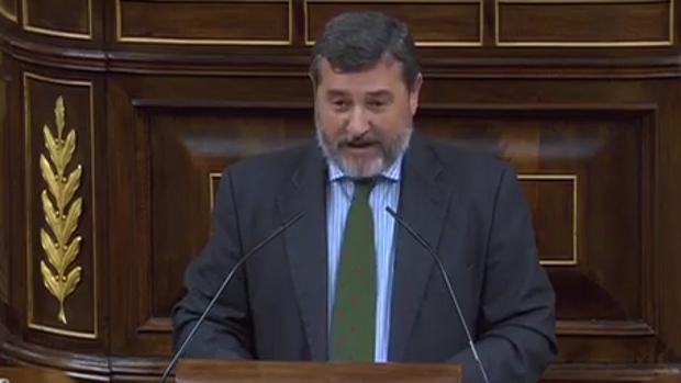 Alfonso Candón, en su despedida del Congreso
