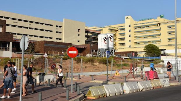 Hospital Costa del Sol en obras por la ampliación