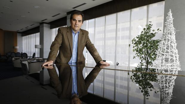 José Antonio Nieto, durante una entrevista en Córdoba
