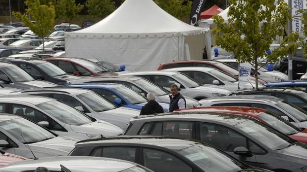 Feria de venta de vehículos en Córdoba