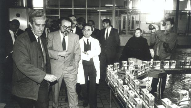 El primer presidente y uno de los fundadores de Covap, Ricardo Delgado Vizcaíno, en los años ochenta