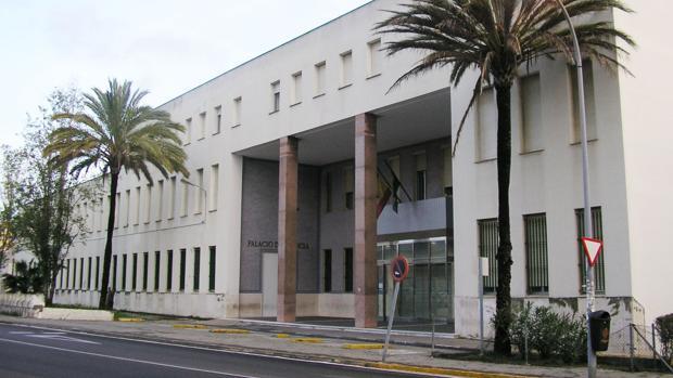 Imagen del Palacio de Justicia de Algeciras