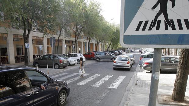 Una calle del barrio del Guadalquivir en Córdoba