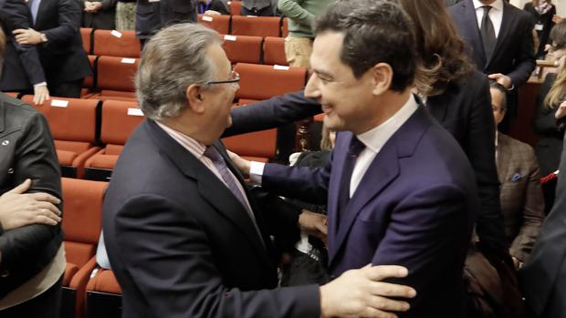 Discurso de investidura de Juanma Moreno como presidente de la Junta de Andalucia