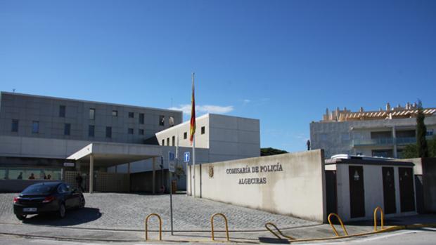 Imaen de la comisaría de la Policía Nacional de Algeciras