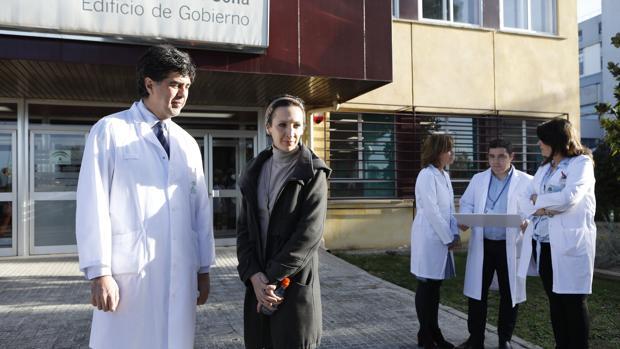 Lidia Piñeiro, trasplantada de Médula en el Reina Sofía de Córdoba