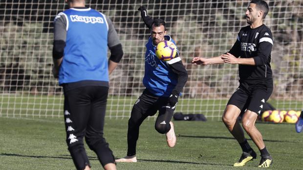 El centrocampista del Córdoba CF Miguel de las Cuevas