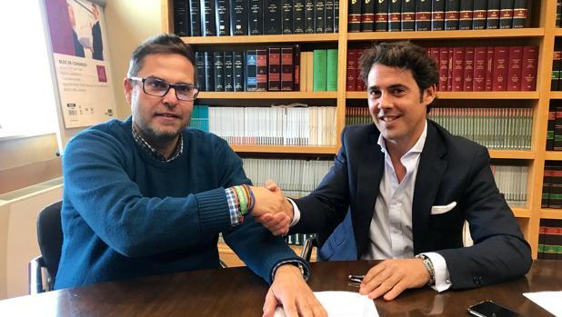 Firma del acuerdo entre las partes
