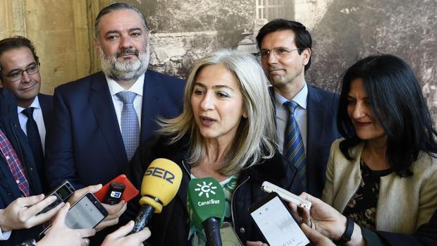 La consejera de Cultura, Patricia del Pozo, ha visitado Granada este jueves
