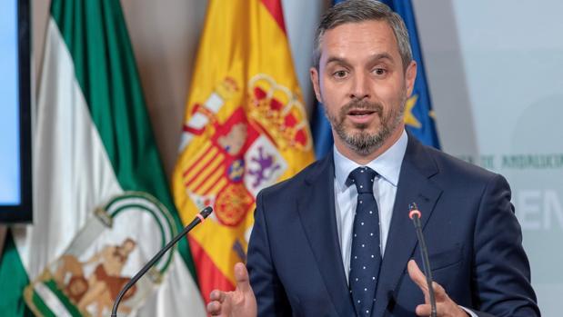 El consejero de Hacienda, Juan Bravo