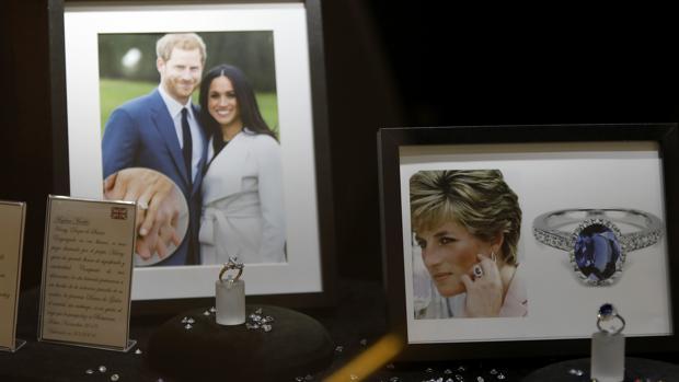 Las réplicas de los anillos de la Princesa de Gales y de Meghan Markle