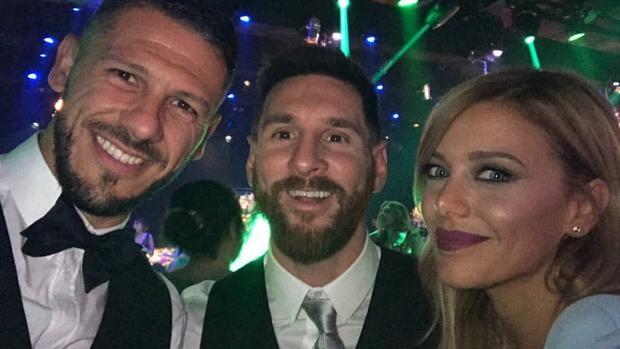 Demichelis y Anderson junta a Leo Messi