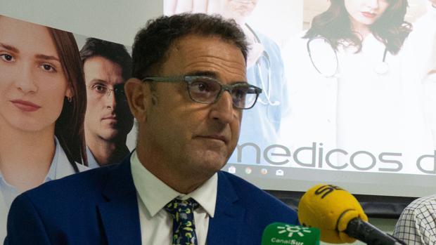 El delegado de Salud de la Junta de Andalucía en Málaga, Carlos Bautista Ojeda
