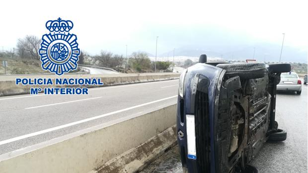 Estado del vehículo tras el accidente