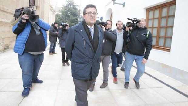 Imagen del ex juez Francisco Serrano y líder andaluz de la nueva derecha