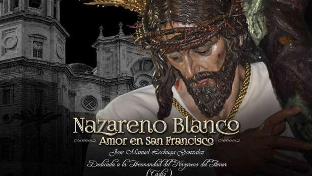 Cartel de la marcha dedicada al Nazareno del Amor