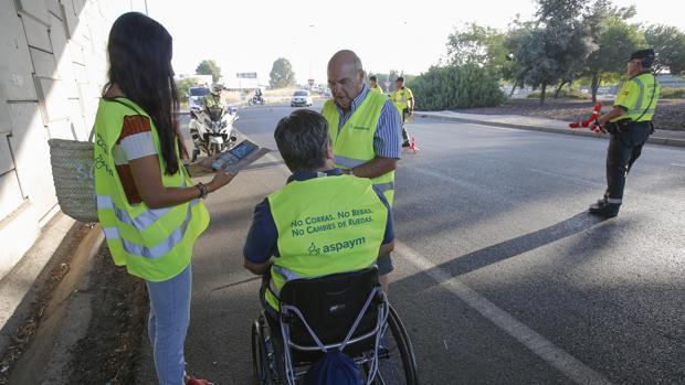 Campaña contra los accidentes de tráfico en Córdoba