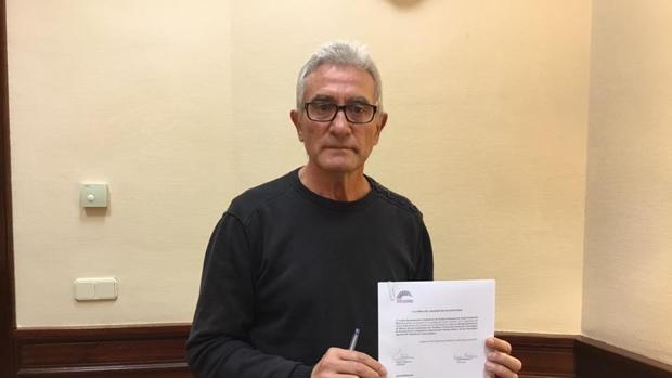 Diego Cañamero, diputado de Podemos por Jaén