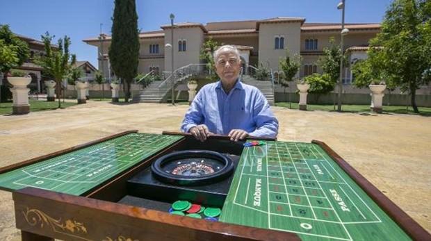 El empresario Gregorio López, promotor del gran casino de Monachil, en Granada