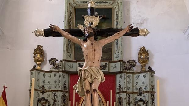 El Cristo de Expiración, recien restaurado