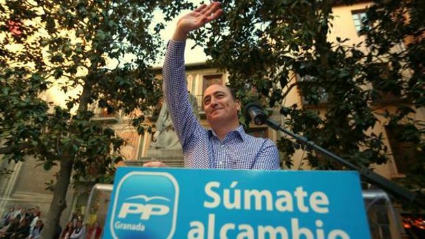 El concejal Juan García Montero se presentó a las primarias del PP hace dos años.