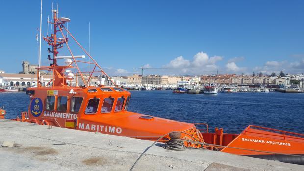 La embarcación «Salvamar Arcturus», en el puerto de Tarifa en una imagen de archivo