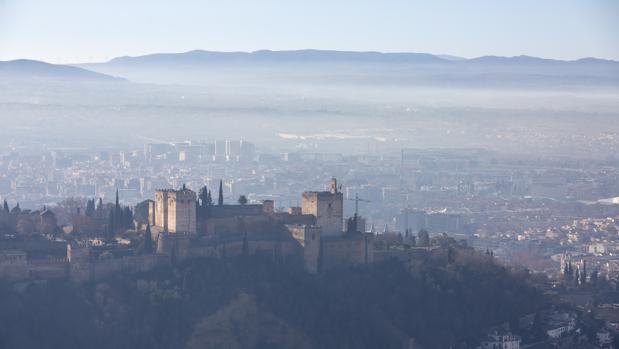 Granada se ha convertido una de las capitales más contaminadas de España