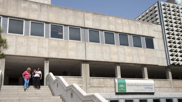 Hospital Materno Infantil de Málaga, donde murió la pequeña tras caer a la piscina