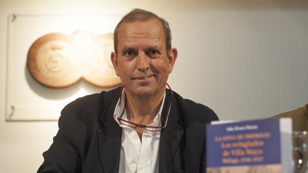 El autor del libro «La lista de Smerdou» y presidente de la Fundación Villa Maya, Félix Álvarez