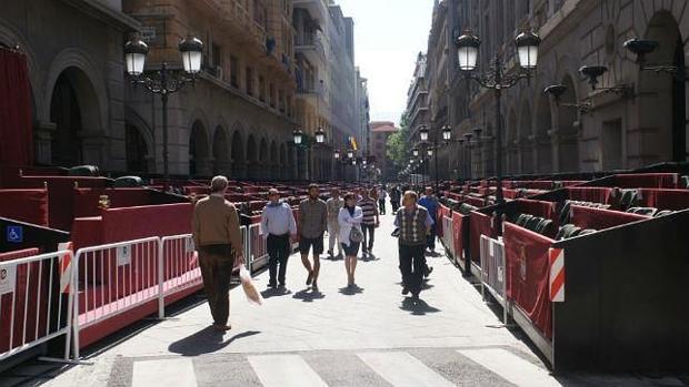 Los hechos se produjeron en plena carrera oficial de la Semana Santa de Granada.