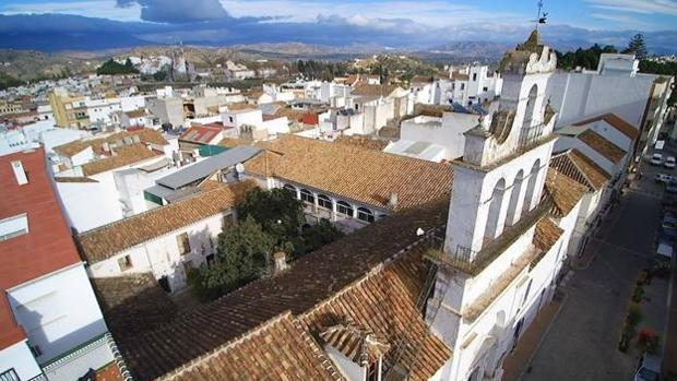 Vista de Coín en Màlaga, donde ha fallecido el pequeño