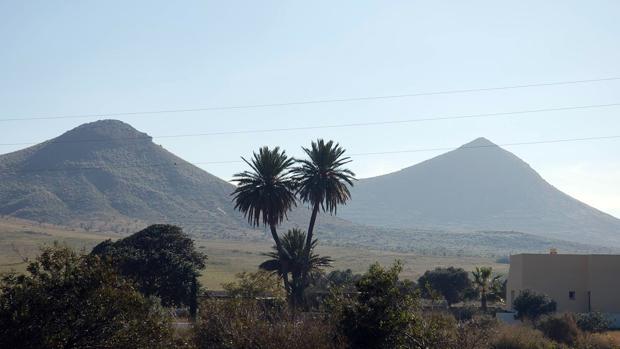 Localización de cine en el término municipal de Níjar.