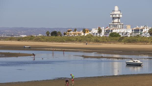 Vista de Isla Cristina, donde se produjeron los vertidos de aguas fecales