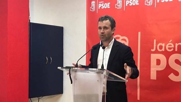 Julio Millán, candidato del PSOE a la alcaldía de Jaén