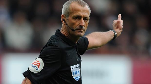 Liga de Campeones:  El inglés Martin Atkinson arbitrará el estreno del Atlético ante el PSV