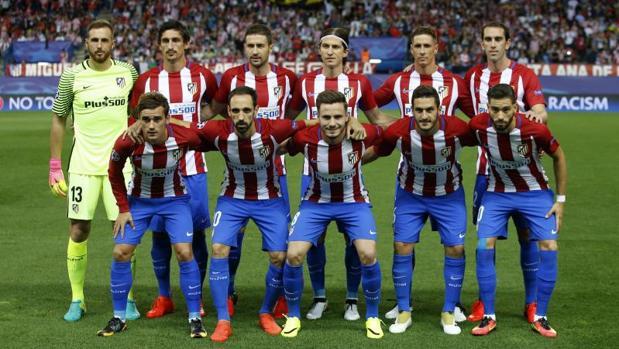 Once titular del Atlético frente al Bayern Múnich